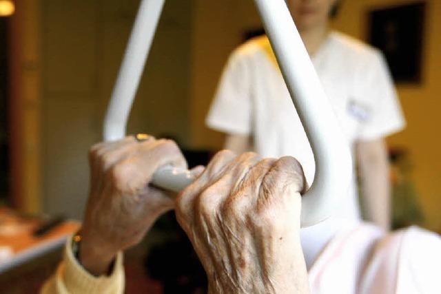Im Dienste alter und kranker Mitbürger
