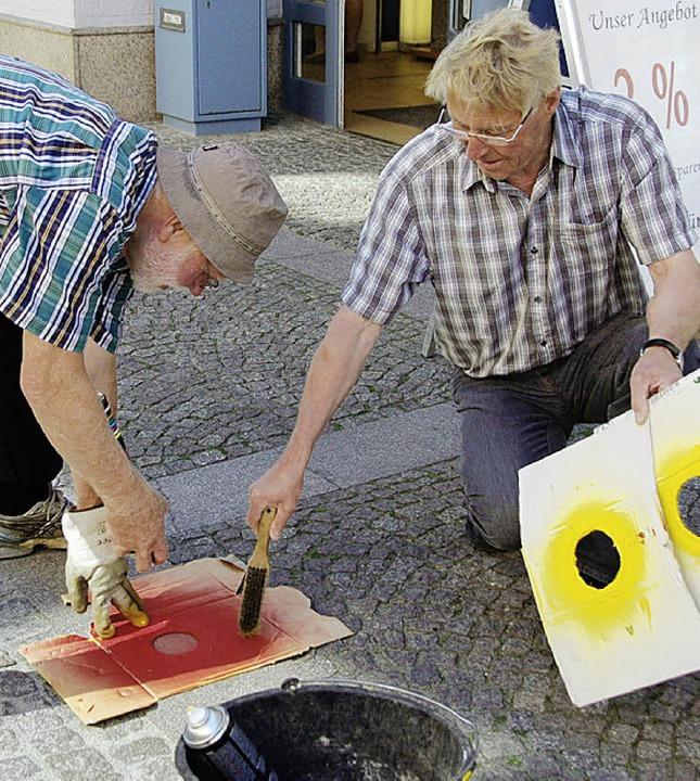 Die Sprayer von Emmendingen    Foto: Sylvia-Karina Jahn