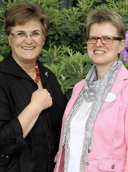 Landfrauen-Präsidentin Brigitte Scherb...tzende des Landfrauenbezirks Freiburg     Foto: privat
