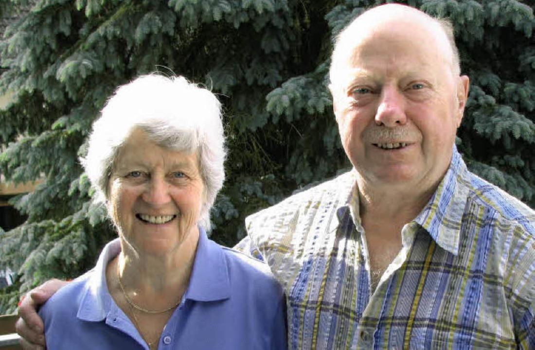 50 Ehejahre feiern Olga und Siegfried Mühl in Eschbach.   | Foto: Rombach