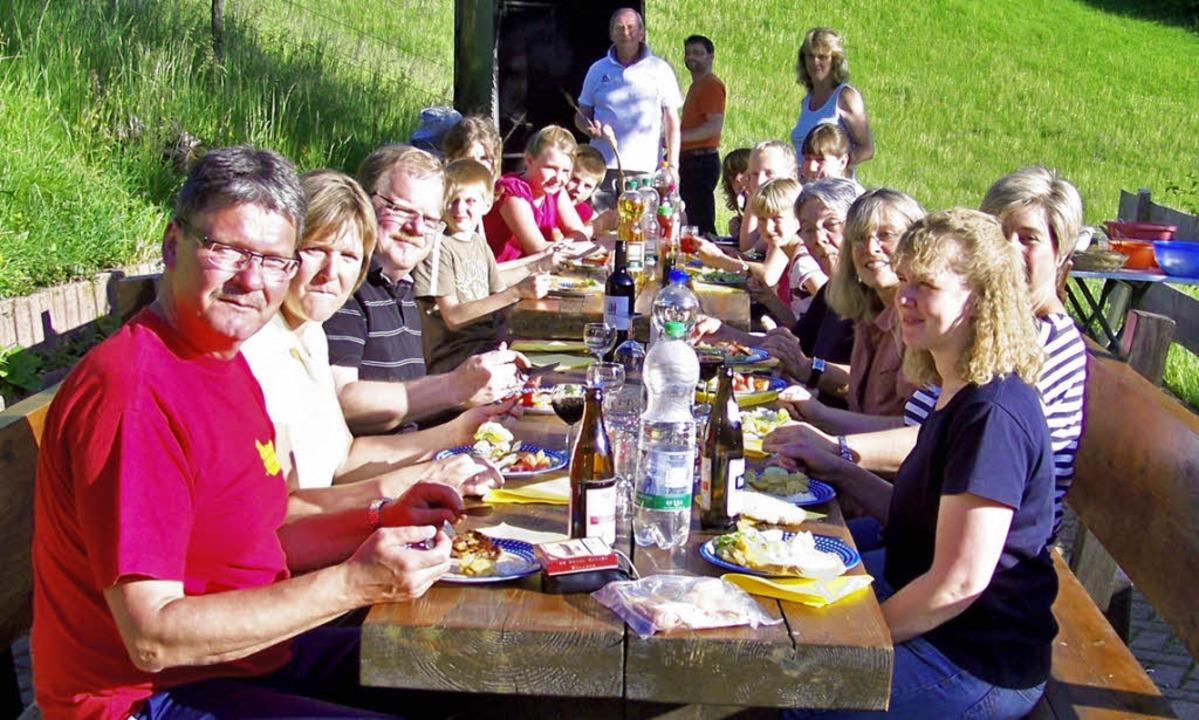 Schöne Tage am Belchen verbrachte die Familiengruppe des Schwarzwaldvereins.   | Foto: Privat