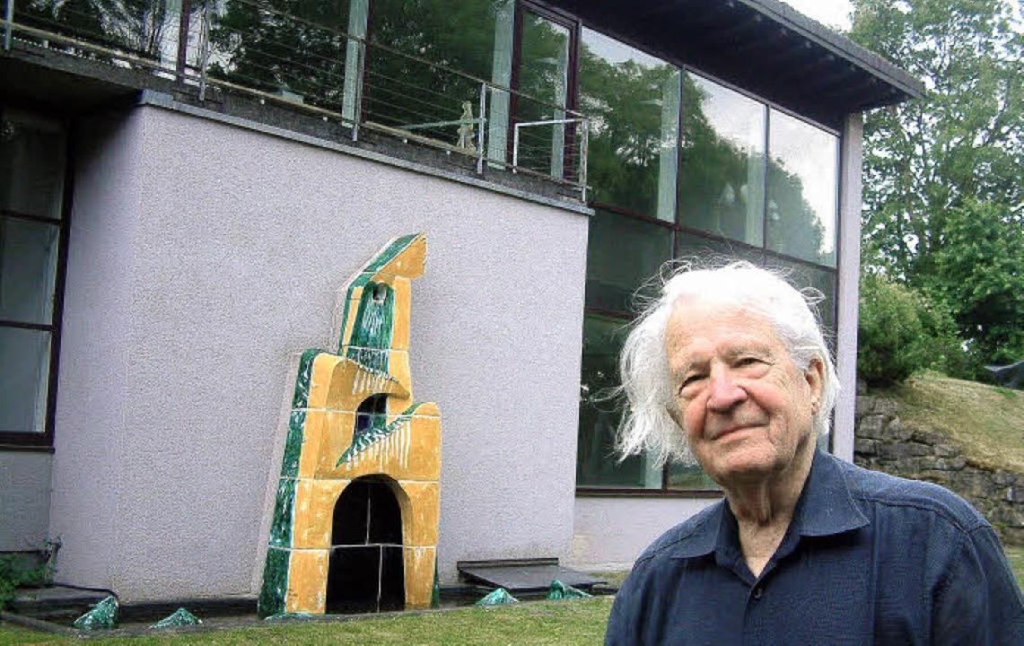 Ein großes Jahr für Erwin Rehmann: Der...de im Juni sein Zehnjähriges  feiert.     Foto: Roswitha Frey
