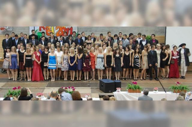 Alle 91 Abiturienten haben bestanden