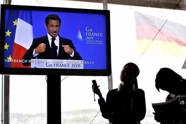 Tunesien dankt G-8-Staaten