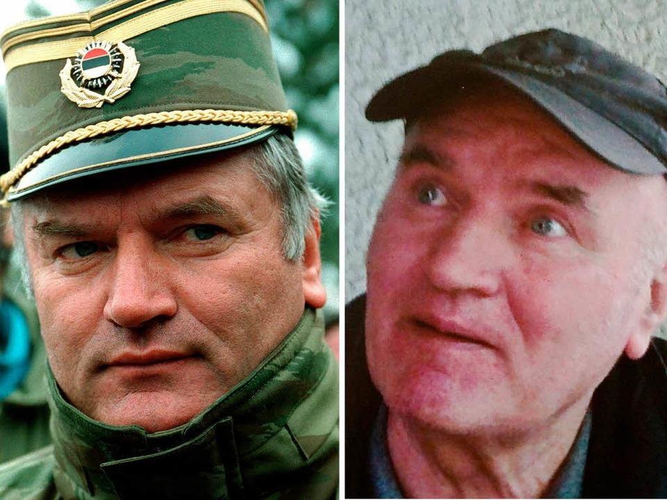Ratko Mladic in Bosnien-Herzegowina am...6. Mai 2011, dem Tag seiner Festnahme.    Foto: dpa
