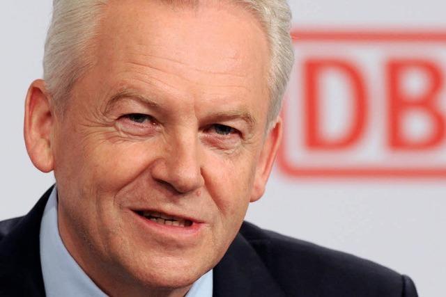 Bahnchef Grube macht Druck wegen Stuttgart 21