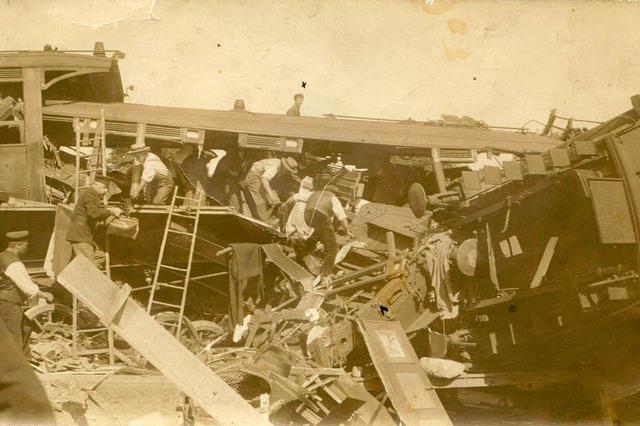 Tragischer Unfall im Müllheimer Bahnhof vor 100 Jahren