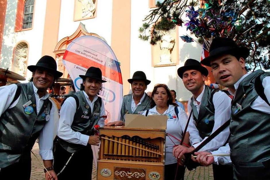 Bunt. laut, schön: Das Orgelfest ware eine nostalgische Symphonie von Tönen und Farben (Foto: Daniel Fleig)