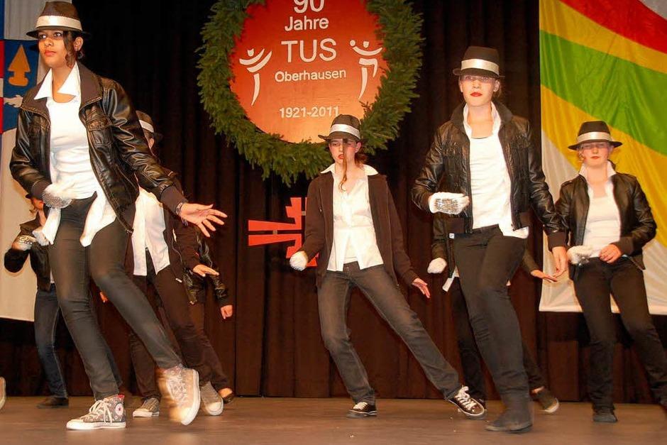 """Der Nachwuchs des TuS-Balletts """"The Next Generation"""" zeigte eine tolle Tanzeinlage (Foto: Marion Domann)"""