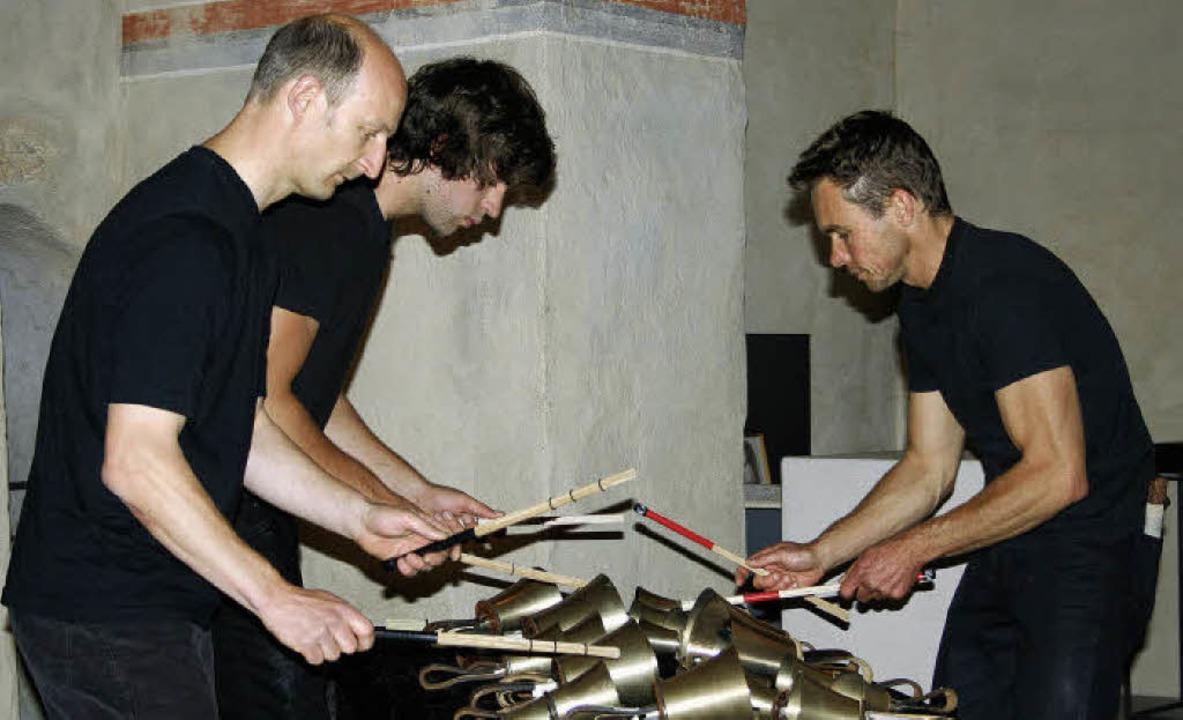 Mit einer eigenes auf die Klosterkirch...enden Tönen und feinen Geräuschen aus.  | Foto: Martina Faller