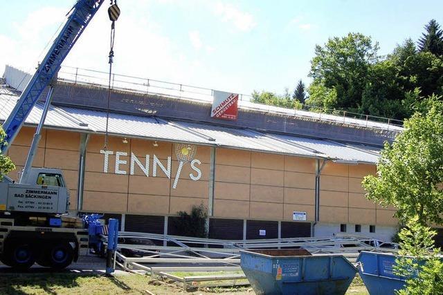 Ab heute kann wieder Tennis gespielt werden
