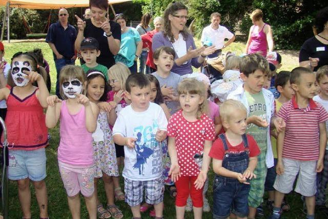 Kindergarten St. Michael feiert seinen 50. Geburtstag