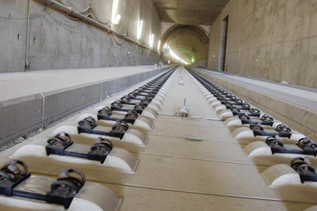 Im Katzenbergtunnel entsteht ein einmaliges Rettungskonzept