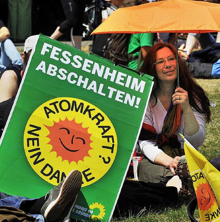 Fessenheim abschalten – das ford...fenburger Gemeinderat per Resolution.   | Foto: dpa