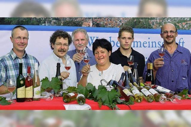 Wein trifft Kultur auf dem Marktplatz