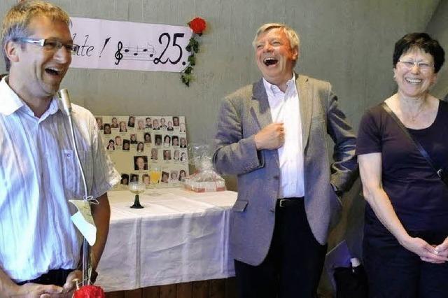 Aus über 40 Kehlen erklingt Mozarts Krönungsmesse