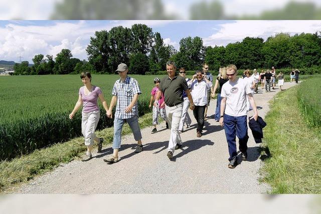 Gottenheim freut sich über viele Neubürger