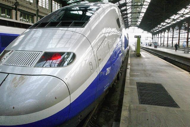 TGV bald 30 Minuten schneller in Paris