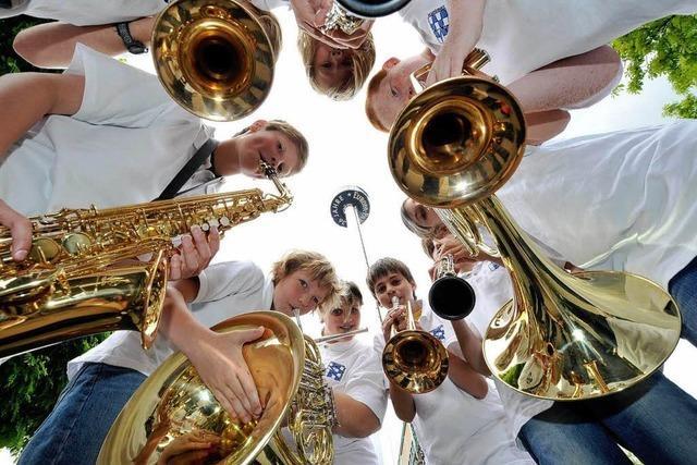 Konzertsaal Europa-Park: 3000 Jugendliche beim Euromusique-Festival
