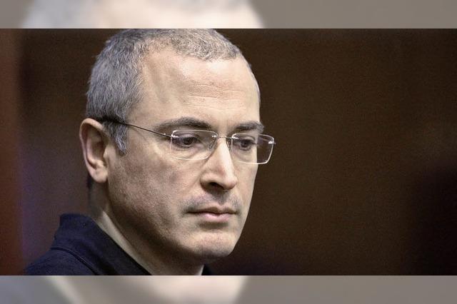 Ein kleiner Erfolg für Chodorkowski