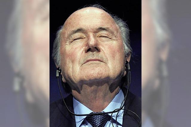 Das System Blatter läuft wie geschmiert