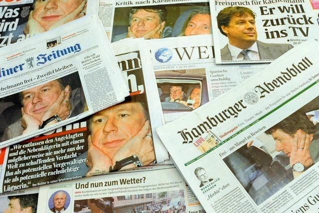 Fall Kachelmann kurbelt Kritik an den Medien an