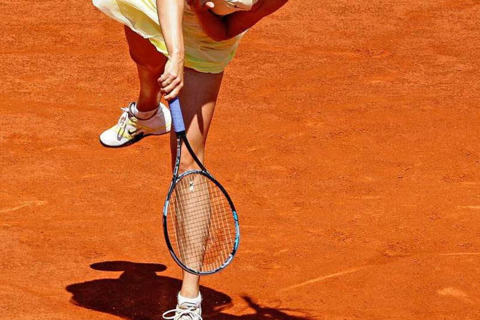 Maria Sharapova war die Stärkere (Foto: dpa)