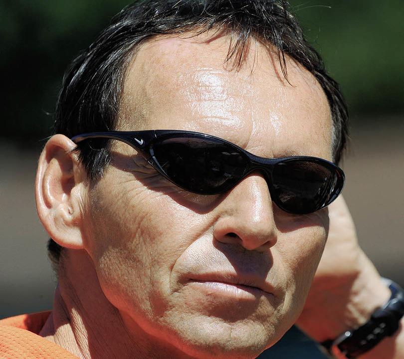 Hofft auf einen erfolgreichen Saisonab...li Hanser,  Trainer des TC Schönberg.   | Foto: Seeger