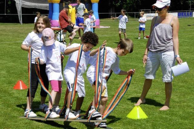 Spiel und Spaß beim Jugendtag