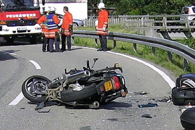 Unfallserie an Himmelfahrt