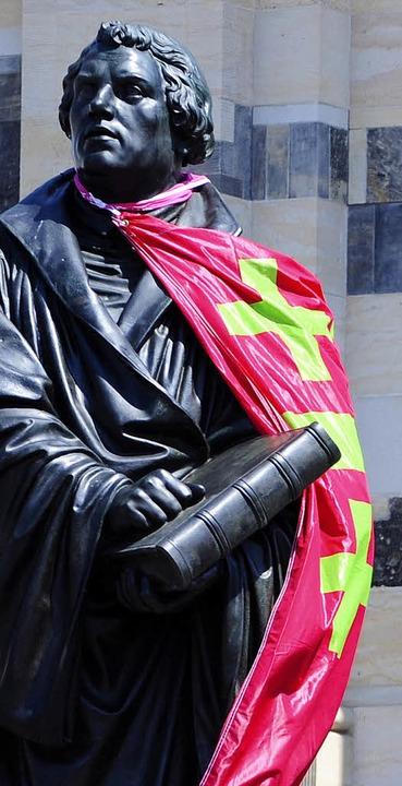 Der Alte:  Martin Luther in Dresden    | Foto: dapd