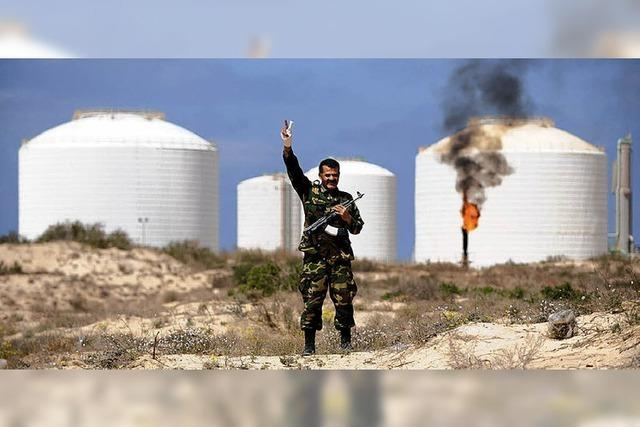 Libyens Ölindustrie ruht