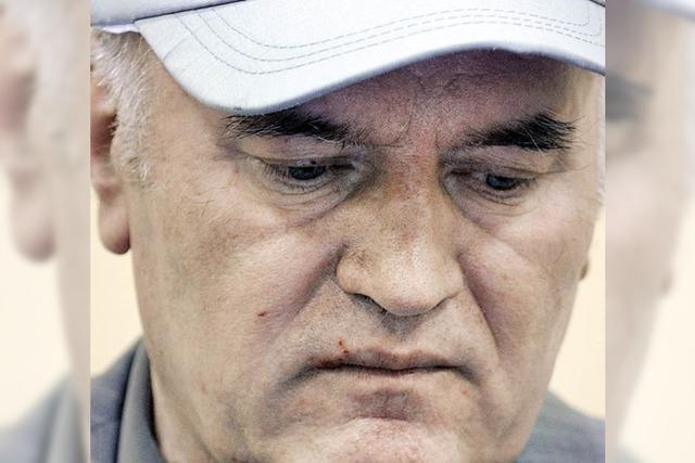 Mladic: Ich habe weder Muslime noch Kroaten getötet