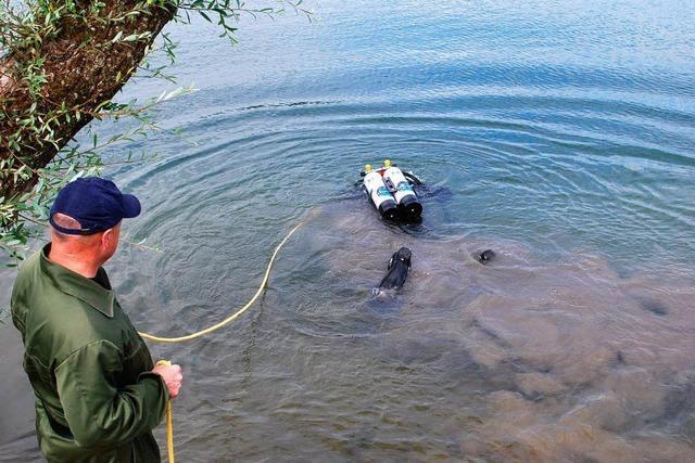 Mordfall: Spurensuche unter Wasser