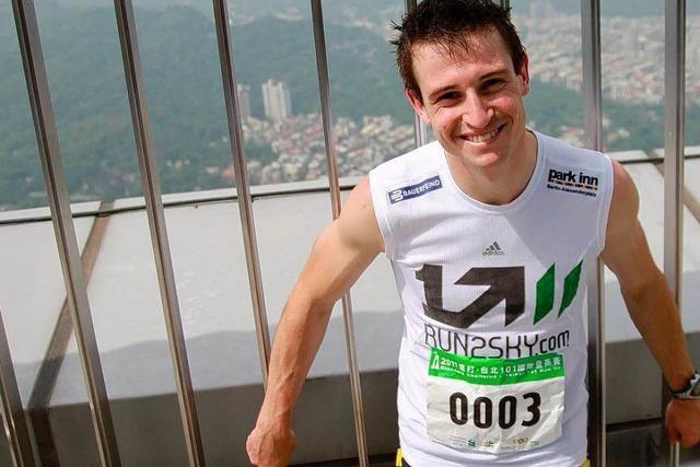 Dold aus Steinach gewinnt Treppenlauf in Taiwan