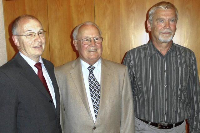 Helmut Gremmelspacher an der Spitze