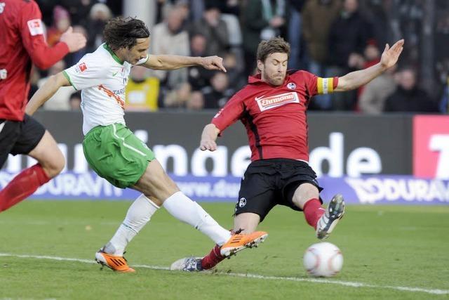 SC Freiburg testet gegen Werder Bremen