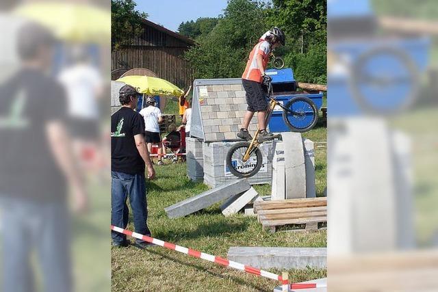 Zwölfjähriger Nils Mattmüller fährt zur Trial-WM