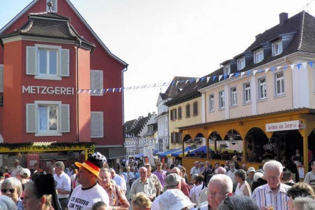 Stadtfest wird seit 40 Jahren gefeiert