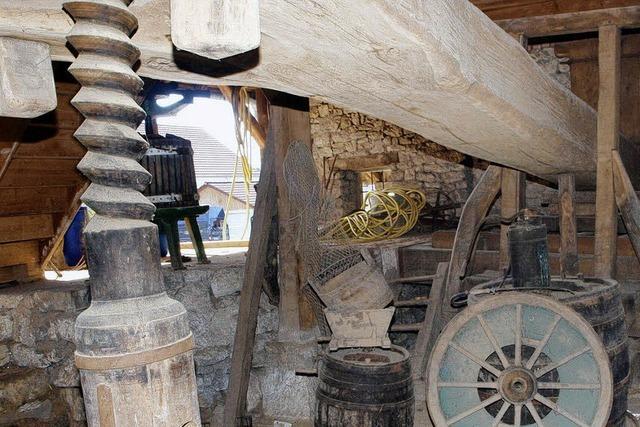 Dringend gesucht: eine neue Bleibe für die historische Zehnttrotte