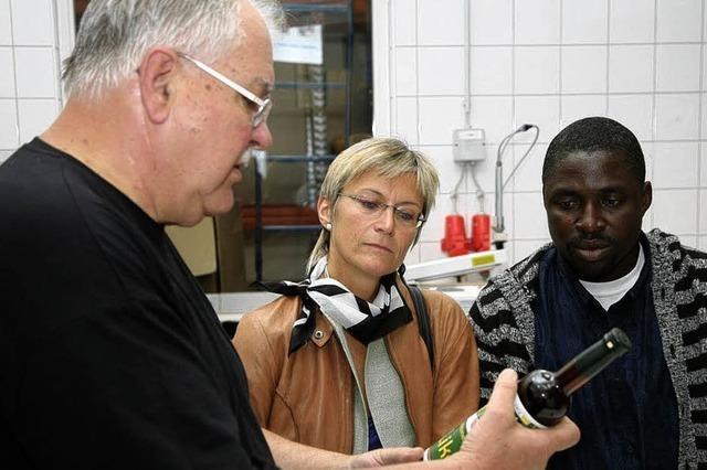 Dekan aus Dikome zu Gast im Kaffee-Center