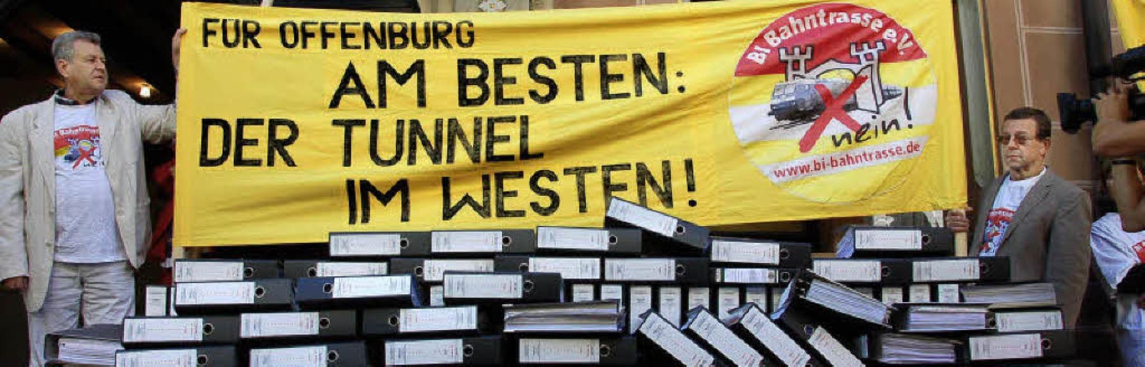 Für Offenburg am besten: ein Tunnel im...– nur nicht unter Wohnbebauung.     Foto: Seller