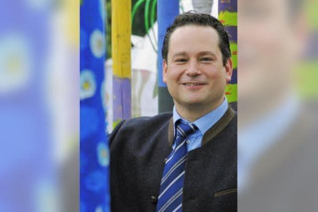 Agrarminister Alexander Bonde: Mit 36 schon ein Politprofi