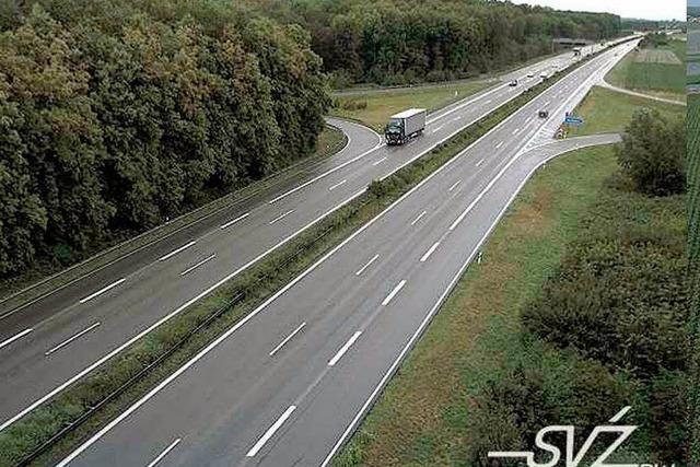 Neue Webcams zeigen den Verkehr auf der Autobahn 5