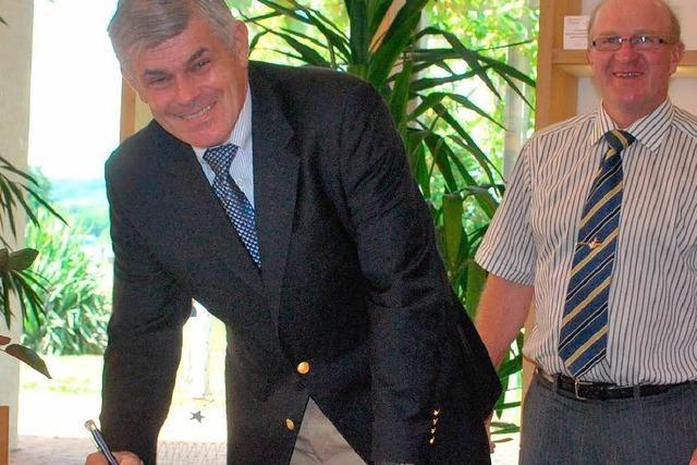 US-Konsul Alford zu Besuch am Kaiserstuhl