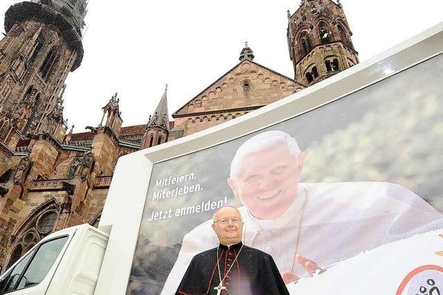 Papstbesuch in Freiburg: Täglich gehen 1000 Anmeldungen ein