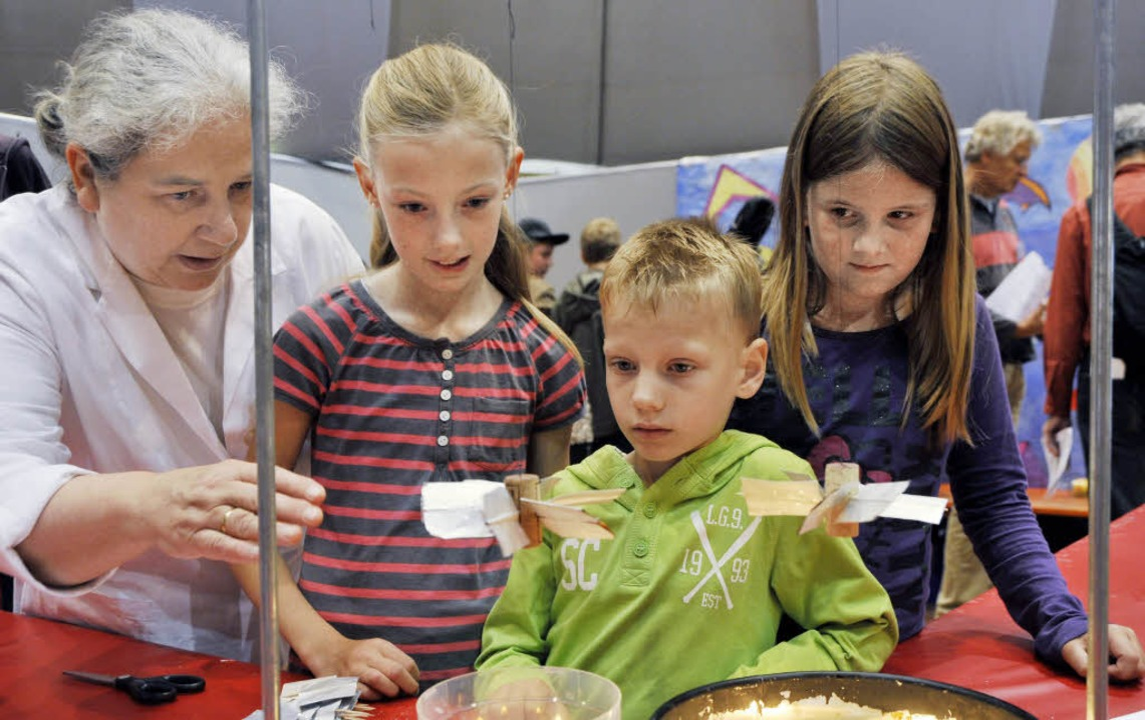 Spannende Experimente für Kinder gab es bei den Science Days.   | Foto: Europa-Park