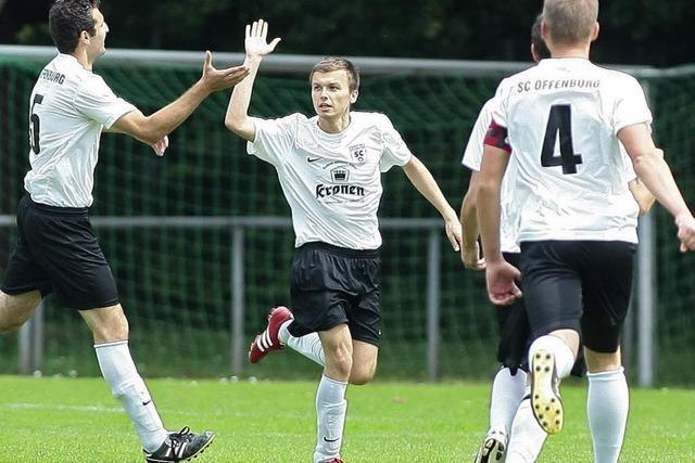 Auch der SC Offenburg will in die Landesliga