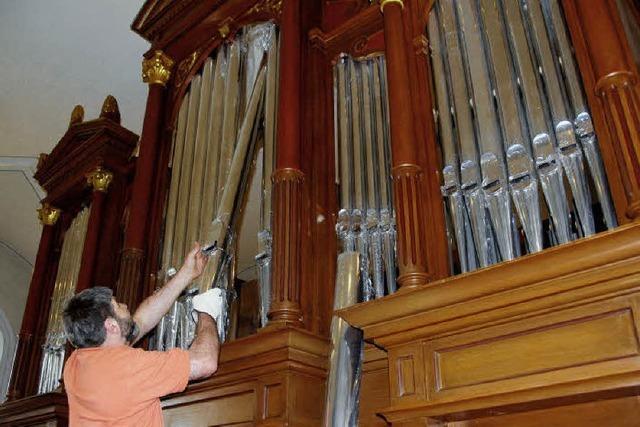 Die Orgel erklingt wieder