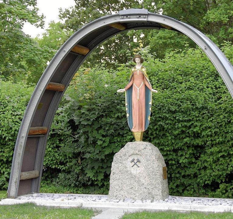 Ein Schutzdach für die Schutzpatronin in Buggingen   | Foto: Sigrid Umiger